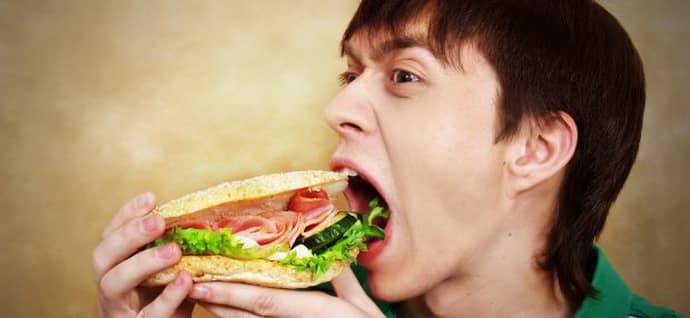 переедание может быть причиной бульбита