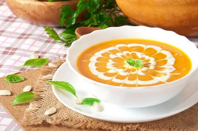 Овощной суп после удаления аппендицита