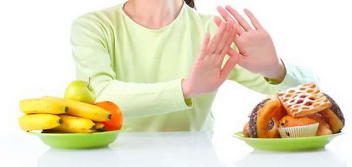 Не правильное питание при паропрактите