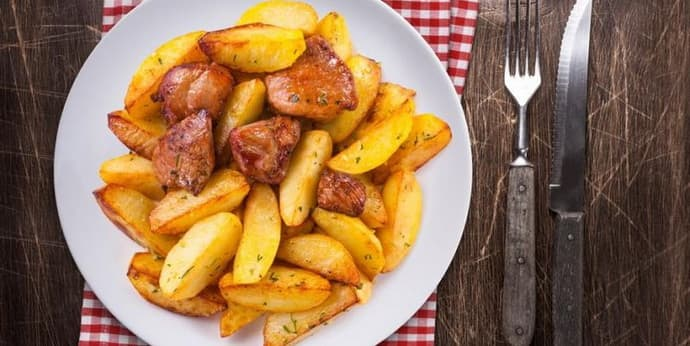 Жареная картошка при хроническом энтероколите