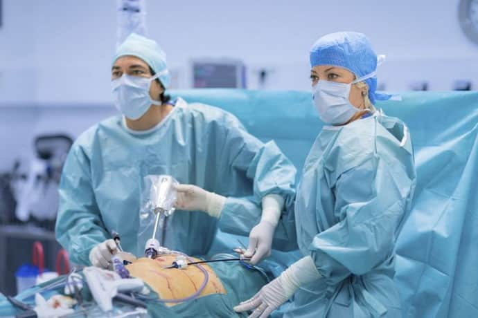 Лапароскопия при катаральном аппендиците