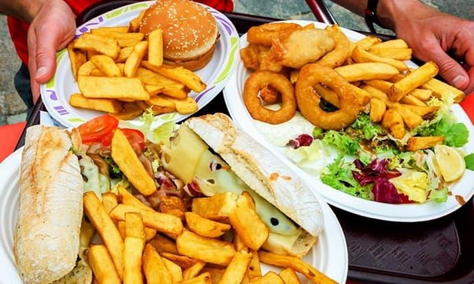 Вредная еда при колите