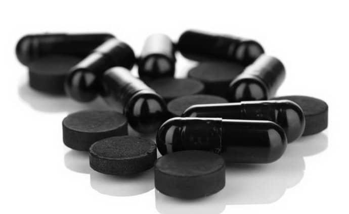 Активированный уголь для лечения дисбактериоза.