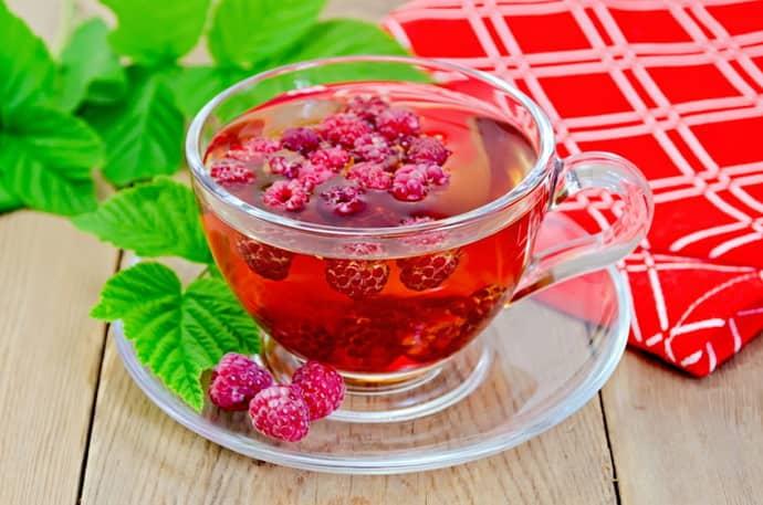 Чай из малины при колите