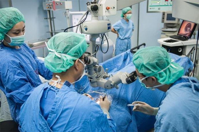Операция при паропрактите