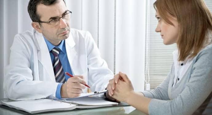 Обследования у врача при паропрактите