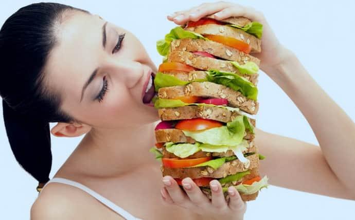 Не правильное питание при гастрите